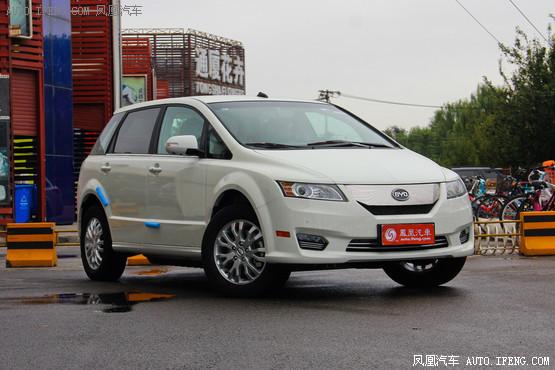 武汉比亚迪e6价格稳定 售价30.98万元起
