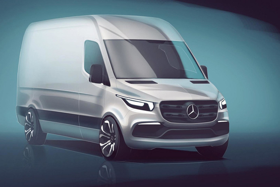 全新奔驰Sprinter谍照曝光 预计明年发售_凤凰网汽车_凤凰网