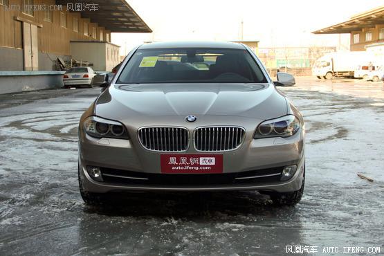 购华晨宝马5系最高优惠6万元 现车销售