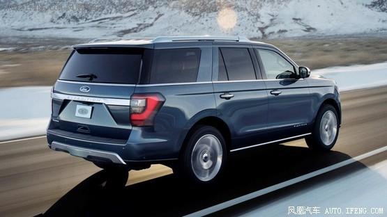 2018款福特征服者打造采用全铝车身亮相长安cs75尾灯全亮点图片