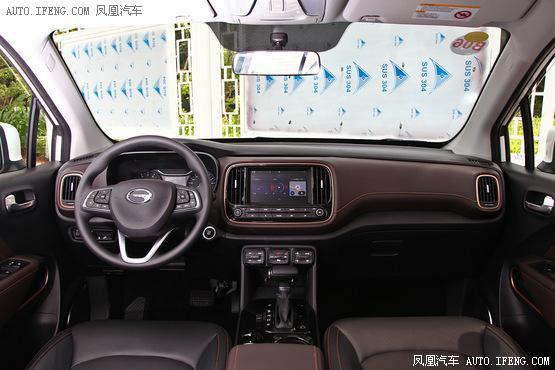 广汽传祺最新款GS3发售 售7.68-11.38万余元