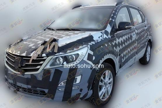 宝骏首款SUV最新谍照曝光 配1.8L AMT高清图片