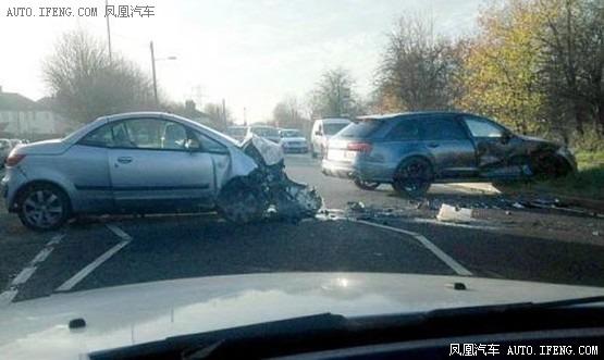 子车祸_贝克汉姆与子出车祸 二人无严重伤害