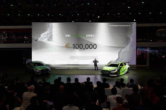 名爵6 XPOWER TCR上市 4秒破百/售价10万欧元