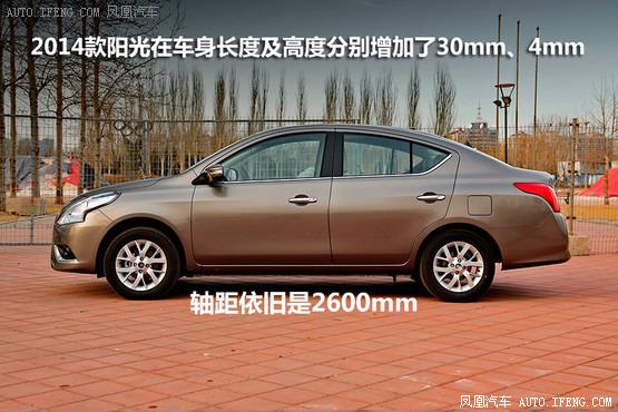 2014款日产阳光 车身参数高清图片