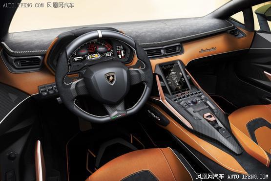 兰博基尼Sián发布旗下首款混动超级跑车