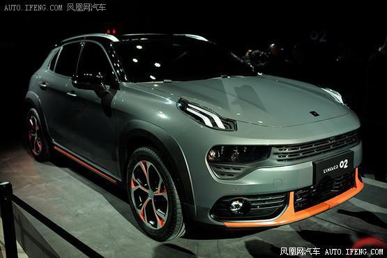 领克02全球首发 更年轻的紧凑型轿跑SUV