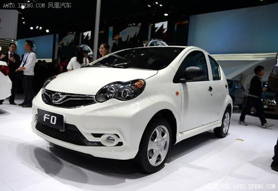 2014北京车展:新款比亚迪F0正式发布