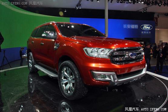 在今年的北京车展上,福特汽车曾发布了everest概念车,而撼路高清图片