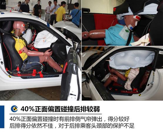 丰田86 40%正面偏置碰撞试验-日产奇骏 丰田86高清图片