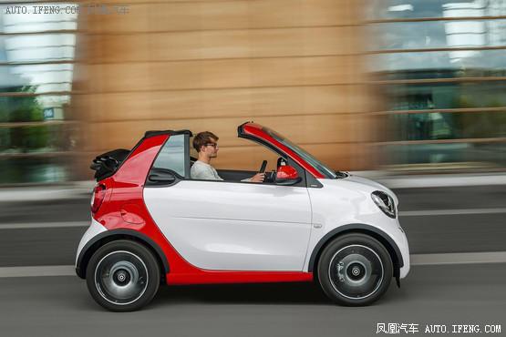 巴博斯推smart敞篷版 日内瓦车展发布