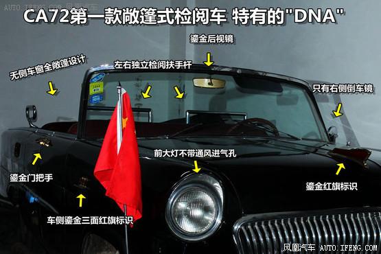 凤凰解密 寻访中国第一辆红旗检阅车高清图片