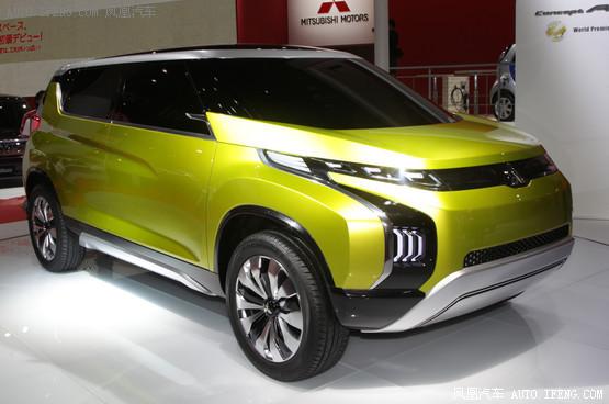三菱ar概念车正式发布 节能环保型mpv 高清图片