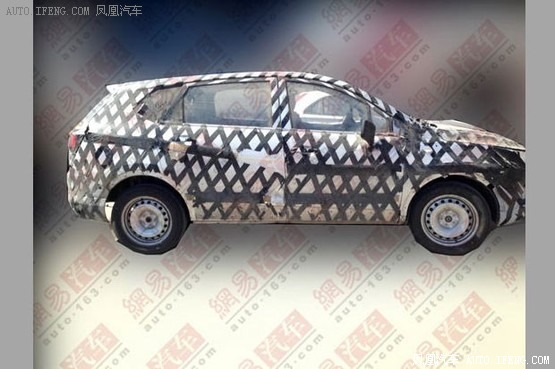 宝骏SUV最新谍照曝光 预计售价8万起高清图片