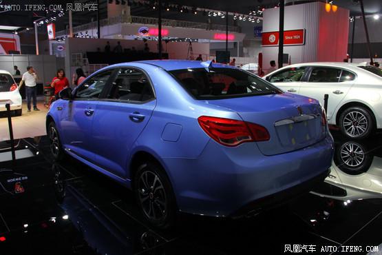 广州车展 荣威550 PLUG IN更名e550高清图片