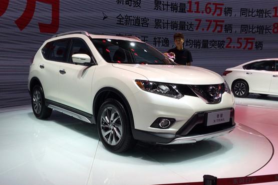 东风日产奇骏新车型上市 售24.78万元