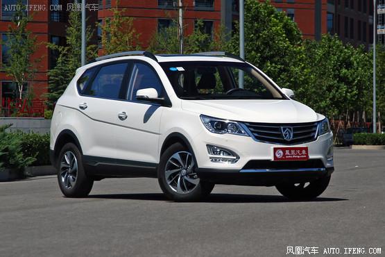 宝骏560最低售7.68万元 4S店内少量现车