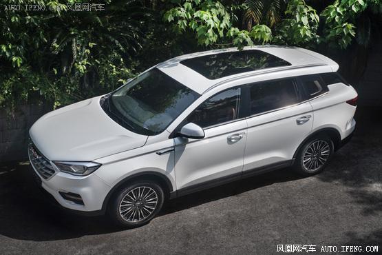 潍柴全新品牌VGV旗下首款车型曝光定位中型SUV