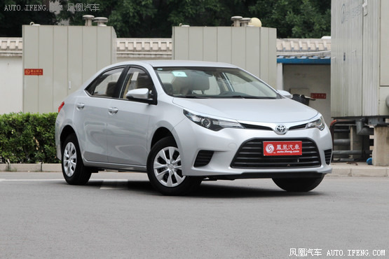 2015款 丰田雷凌 1.6E CVT新锐版