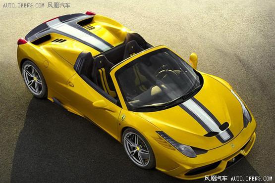法拉利458 speciale a官图 限量499台高清图片