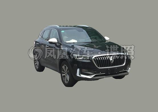 宝沃BX5 1.4T实车曝光 成都车展上市