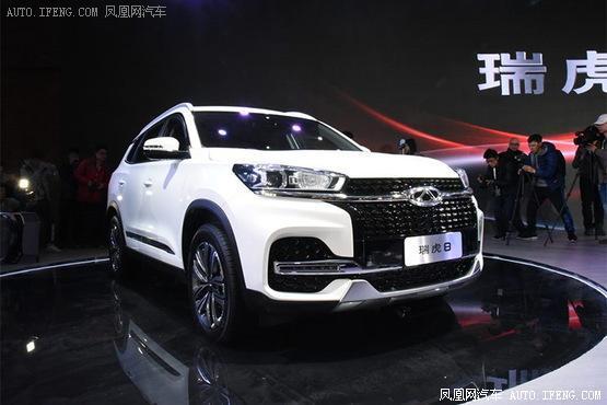 奇瑞瑞虎8内饰官图发布 北京车展上市