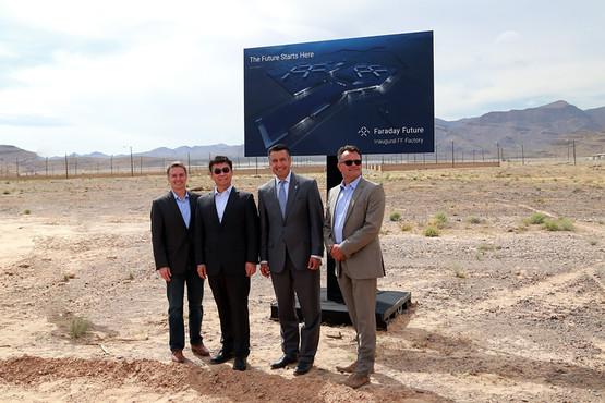 乐视合作伙伴faraday future工厂奠基