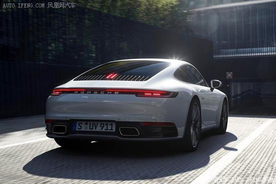 2019法兰克福车展:保时捷911Carrera4系列发布