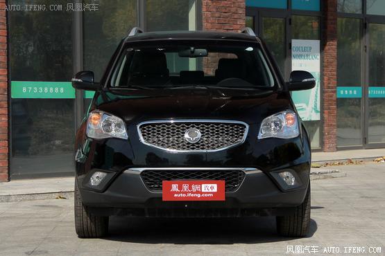 购柯兰多柴油版车型最高可享4万优惠