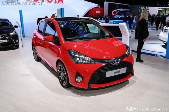 新款丰田雅力士-新款雅力士巴黎车展首发 造型更动感高清图片