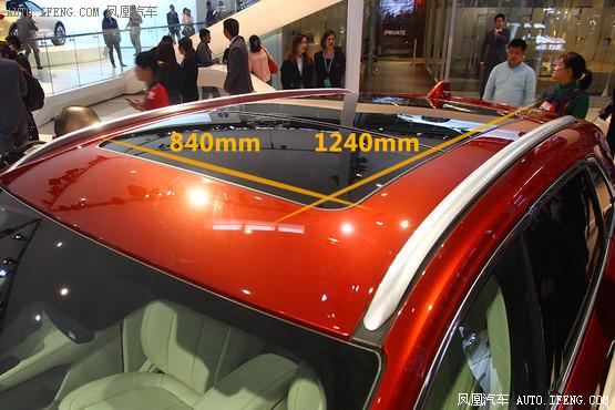 款SUV新车的全景天窗最大 -No.5 林肯MKC