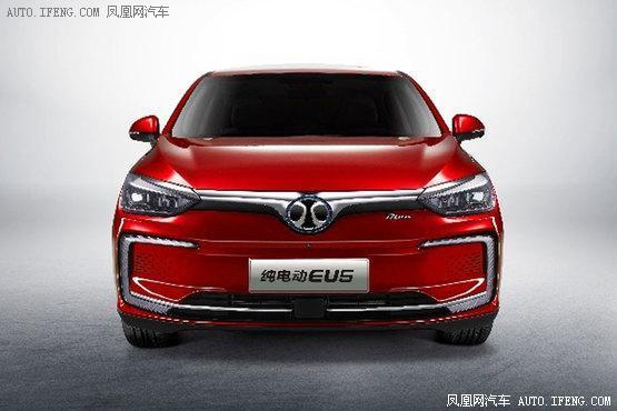 2018北京车展:北汽新能源EU5预售12.99万起</span></h3>