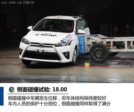 丰田致炫 侧面碰撞试验-解读最新C NCAP碰撞 后排安全不乐观高清图片