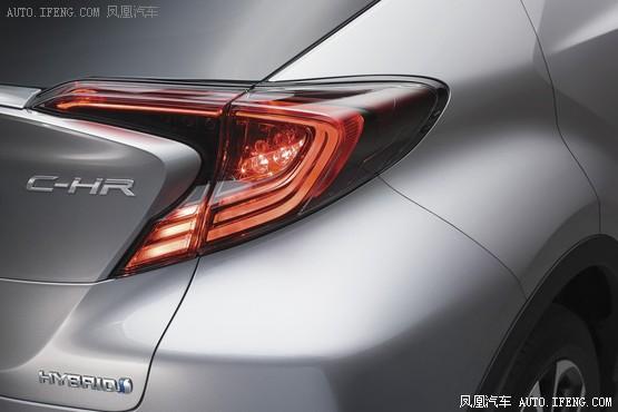 丰田小型SUV C-HR官图发布 或推混动版_车猫网