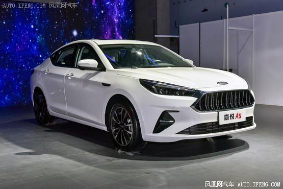 """江淮全新家轿定名""""嘉悦A5""""预计今年11月上市"""