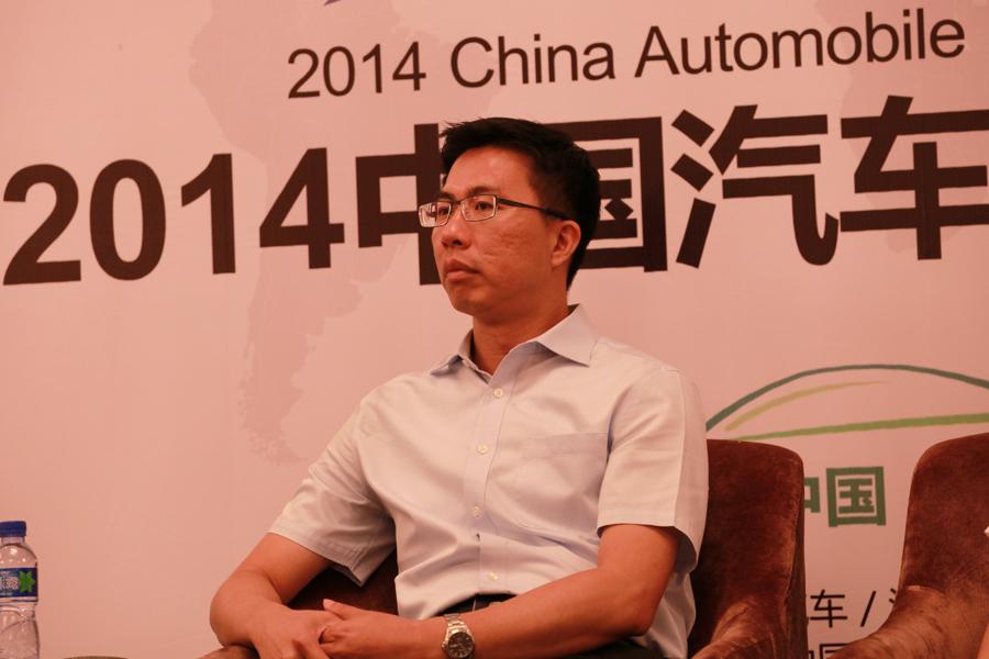 长安PSA副总裁销售公司总经理蔡建军