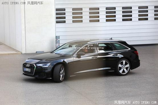 曝奥迪新S6 Avant谍照 或搭2.9T V6发动机