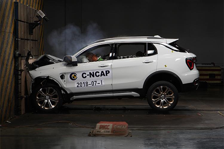 2018第一批我本沉默迷失传奇C-NCAP成绩公布_领克01获最高评分