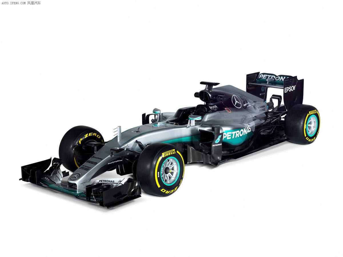奔驰发布2016款f1赛车