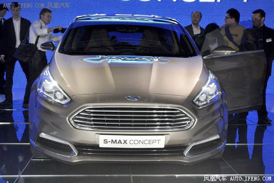 烈的运动感.   凤凰汽车讯 此前,我们曝光了福特新一代s-max高清图片
