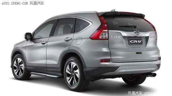 本田CR-V海外推限量版 增加丰富配置_车猫网
