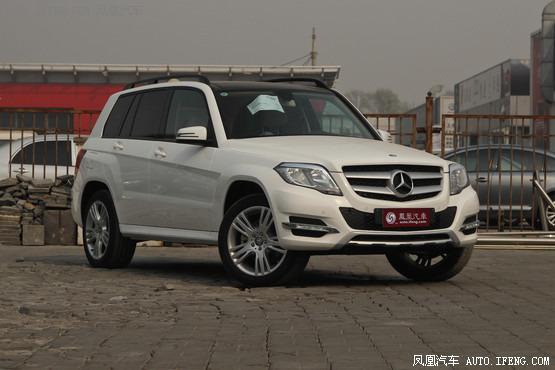 外观大体 奔驰GLK级最高优惠3.6万元