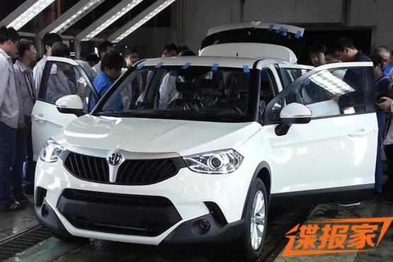 曝华晨中华V3 SUV实车图 有望2015上市高清图片