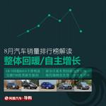 8月全国汽车销量排行