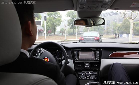 汽车达人秀 71 体验红旗H7自动驾驶高清图片