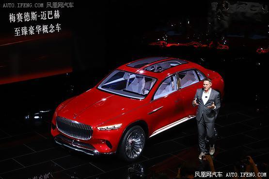 迈巴赫SUV概念车全球首发 添越不再寂寞