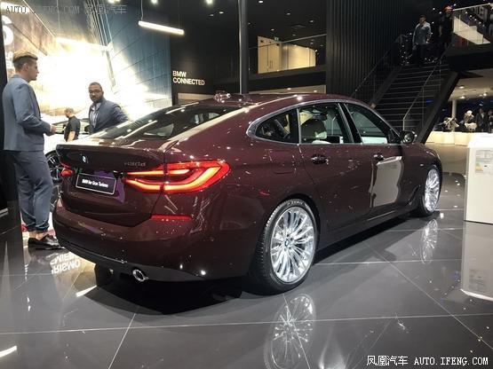 2017法兰克福车展:宝马6系gt发布