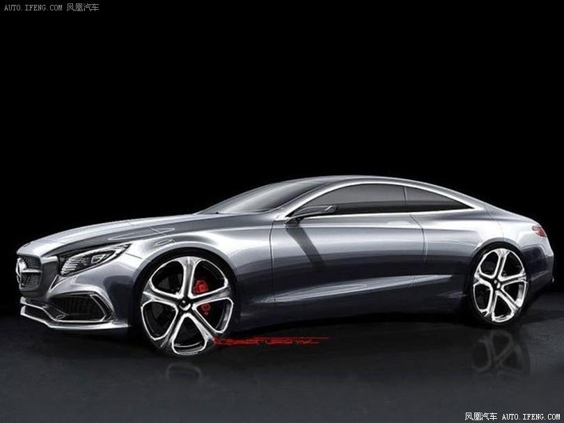 汽车图片 2013-09 奔驰s coupe设计图 深港澳车展-车模 深港澳车展-车