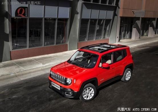 2017款Jeep自由侠官图发布 3月1日上市