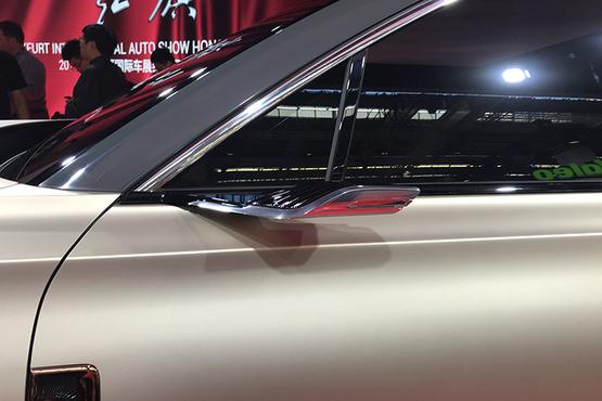 红旗E115概念车亮相霸气造型气场超强定位纯电动大型SUV